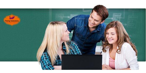 4 týždňový jazykový kurz angličtiny s lektormi NATIVE SPEAKERS v centre…