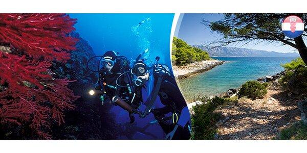 7-dňový potápačský kurz v Chorvátsku