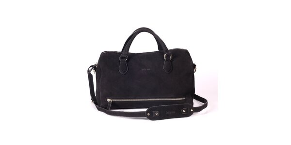 Dámska čierna kabelka s popruhom Kate Lee