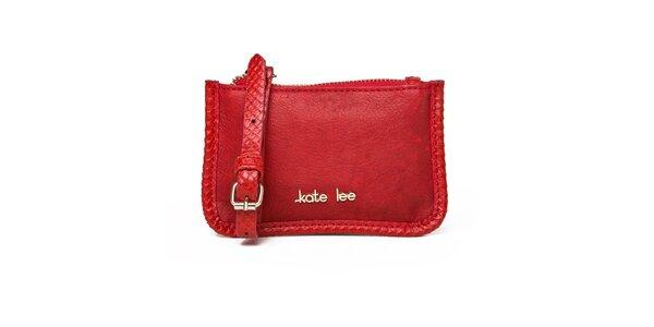 Dámska červená kapsička Kate Lee