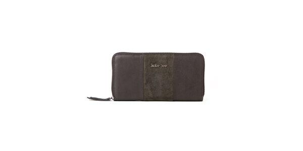 Dámska šedo-khaki peňaženka Kate Lee