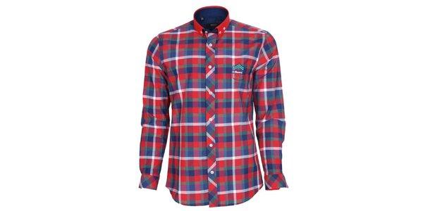 Pánska farebne kockovaná košeľa Brazzi