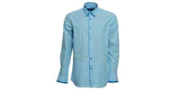 Pánska tyrkysová košeľa Brazzi