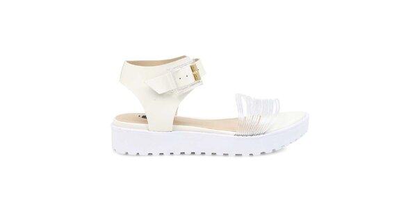 Dámske biele sandále Arezzo