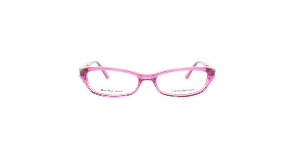 Dámske fuchsiovo ružové okuliarové obrúčky Emporio Armani
