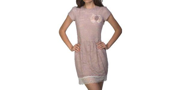 Dámske svetlo ružové šaty Arefeva