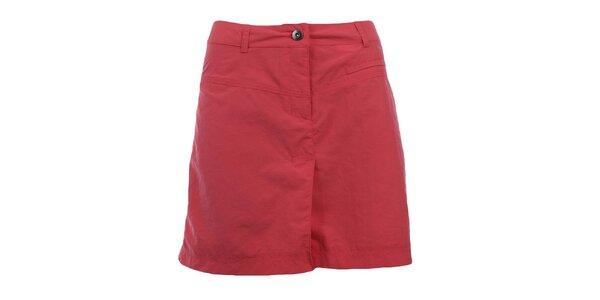 Dámska červenoružová športová sukňa Hannah