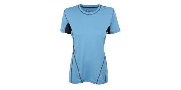Dámske modro-čierne funkčné tričko Hannah