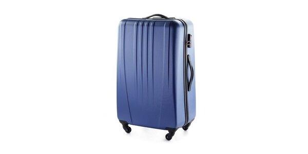 Modrý škrupinový kufor Wittchen