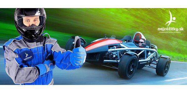 Ariel Atom: Jazda na jednom z najrýchlejších áut na svete