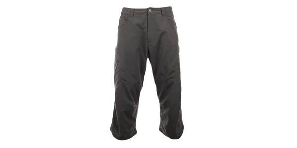 Pánske 3/4 zelenošedé funkčné nohavice Hannah