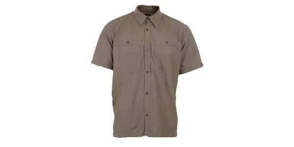 Pánska svetlo hnedá funkčná košeľa Hannah
