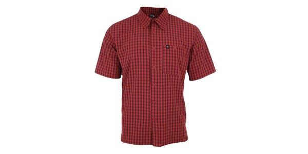 Pánska červeno kockovaná košeľa Hannah