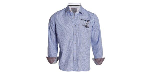 Pánska modro kockovaná košeľa Signore dei Mari