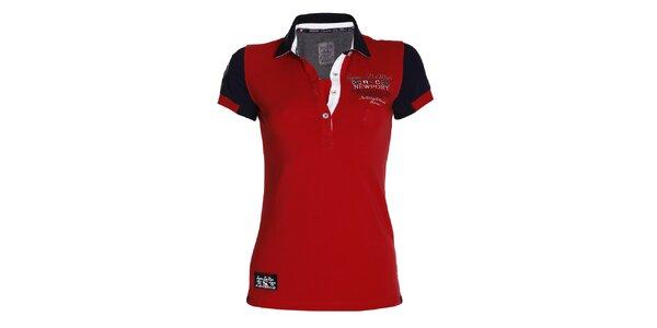 Dámske červené polo tričko Signore dei Mari