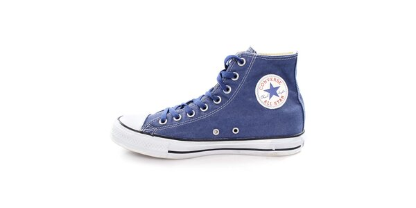 Tmavo modré členkové tenisky Converse