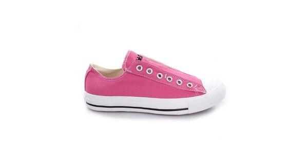 Ružové nízke tenisky Converse