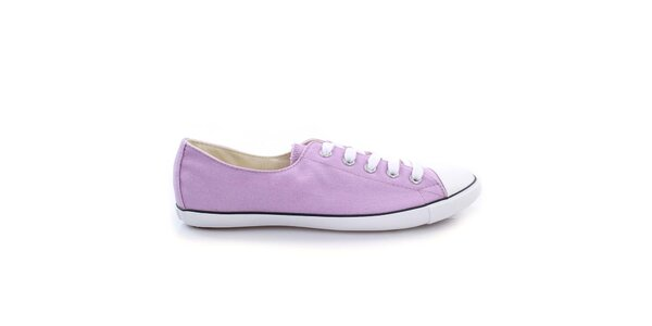 Dámske svetlo fialové nízke tenisky Converse