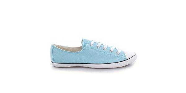 Dámske svetlo modré nízke tenisky Converse