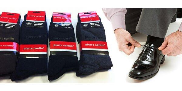 3 páry pánskych ponožiek Pierre Cardin