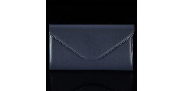 Dámska tmavo modrá listová kabelka Felice
