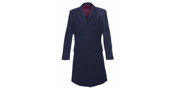 Pánsky tmavo modrý kabát Merc