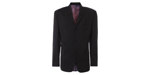 Pánske čierne oblekové sako Merc