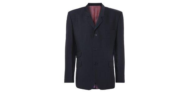 Pánske modré oblekové sako Merc