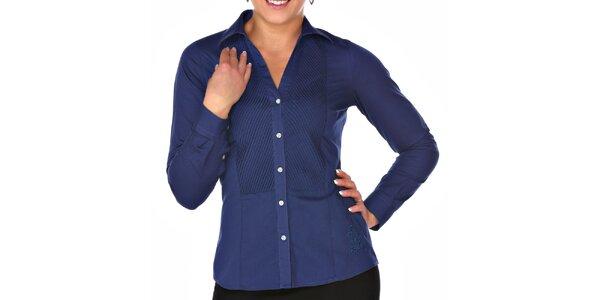 Dámska modrá košeľa M. Conte