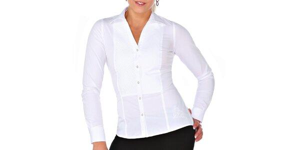 Dámska biela košeľa M. Conte