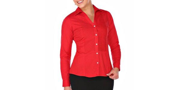 Dámska červená košeľa M. Conte
