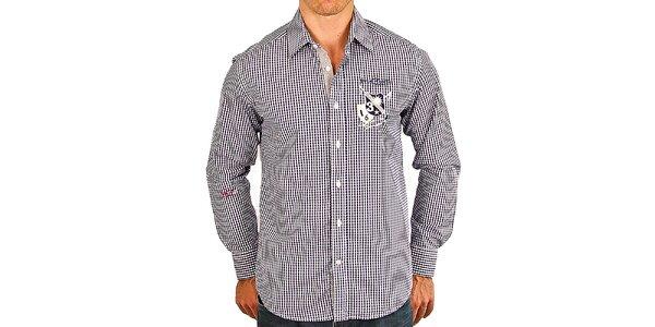 Pánska kockovaná košeľa M. Conte