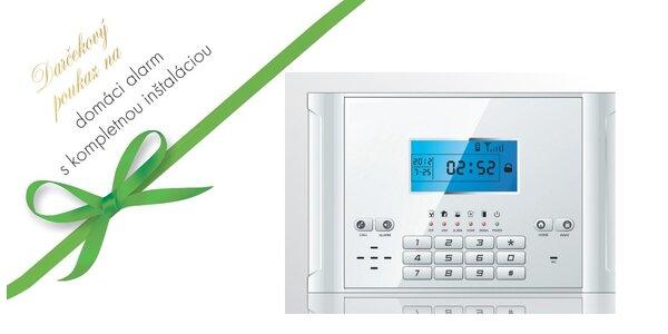Domáci alarm EVOLUTION II. pre bezpečnosť vášho domova