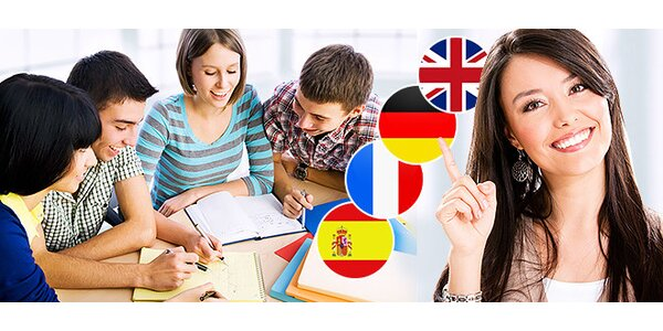 Konverzačné kurzy angličtiny, nemčiny, francúzštiny i španielčiny
