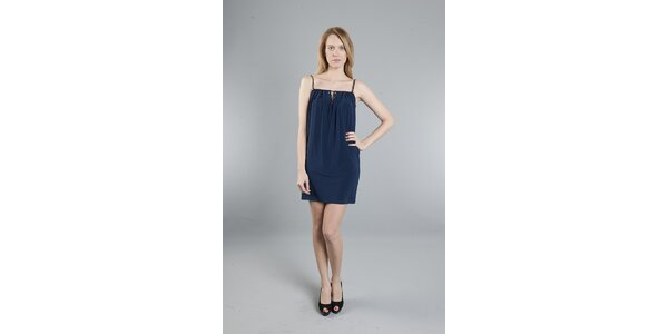 Dámske tmavo modré šaty Via Bellucci