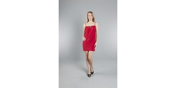 Dámske červené šaty Via Bellucci