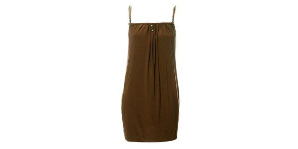 Dámske béžové šaty Via Bellucci