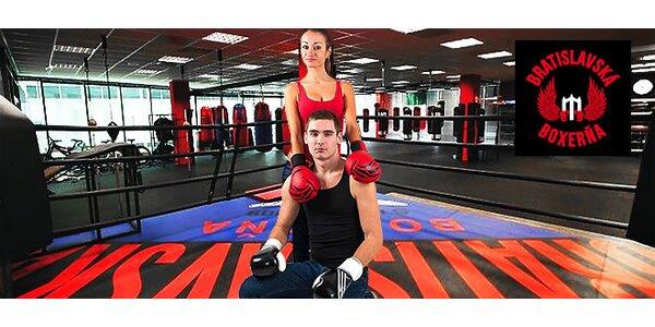 3 tréningy za cenu 1 v Bratislavskej boxerni