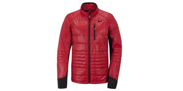 Pánska červeno-čierna funkčná bunda Maier