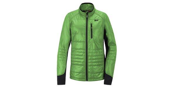 Pánska zeleno-čierna funkčná bunda Maier
