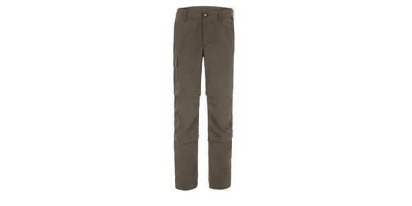 Pánske khaki nohavice Maier s odpínateľnými zipsami