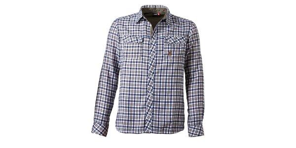 Pánska kockovaná košeľa s náprsnými vreckami Maier