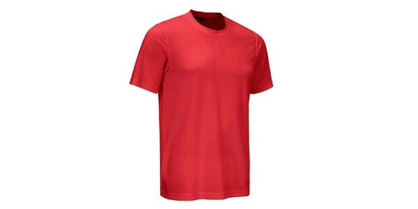 Pánske červené tričko Maier