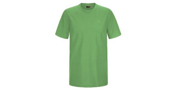 Pánske zelené funkčné tričko Maier