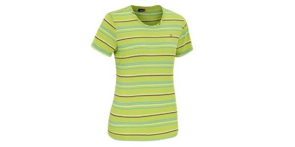 Dámske zelené funkčné tričko Maier
