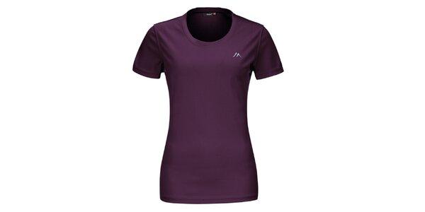 Dámske fialové funkčné tričko s krátkym rukávom Maier