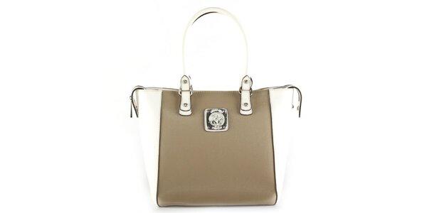 Dámska kabelka s bielymi ušami Beverly Hills Polo Club