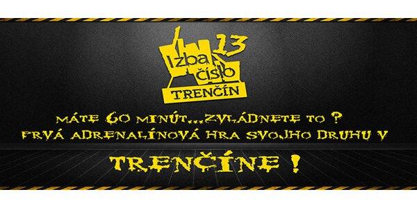 Izba číslo 13 v Trenčíne - máte hodinu, aby ste ušli