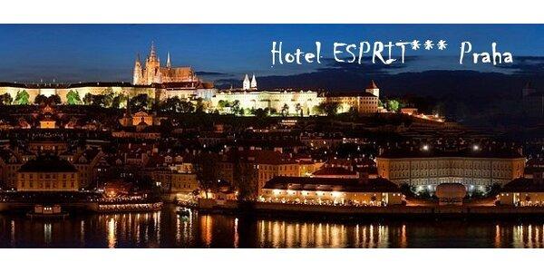 Fantastický pobyt v stovežatej PRAHE v hoteli Esprit***