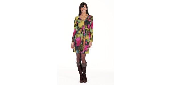 Farebné šaty Peace&Love